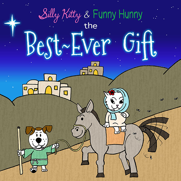 silly-kitty-funny-hunny-best-ever-present